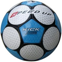 Speed Up Kick Cross Leatherite Football -   Size: 5,  Diameter: 30 Cm (Pack Of 1, Multicolor)