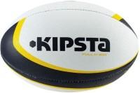 Kipsta Flyaway Rugby Ball -   Size: 3,  Diameter: 42 Cm (Pack Of 1, Yellow, Blue)