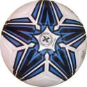 Hikco Shooting Star Football -   Size: 5,  Diameter: 22 Cm - Pack Of 1, White, Blue, Black