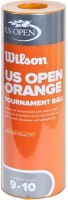 Wilson U.S. Open Orange Tournament Tennis Ball -   Size: 2,  Diameter: 6.86 Cm (Pack Of 3, Yellow, Orange)