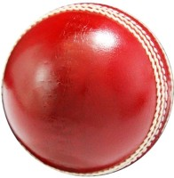 RMB Hitter Cricket Ball - Size: 3, Diameter: 7.2 Cm (Pack Of 1, Red)