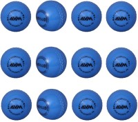 AVM Windball-15 Cricket Ball -   Size: Standard,  Diameter: 6.5 Cm (Pack Of 12, Blue)