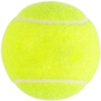 Y & J Cricket Ball Tennis Ball -   Size: 5,  Diameter: 6.4 Cm (Pack Of 2, Yellow)