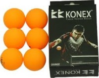 Kk Konex Table Tennis Ping Pong Ball -   Size: 4,  Diameter: 4 Cm (Pack Of 6, Orange)