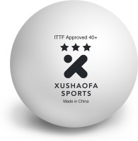 Xushaofa Sports Seamless Poly Plastic 3 Star Table Tennis Balls 40+ Ping Pong Ball -   Size: 40+,  Diameter: 4 Cm (Pack Of 36, White)