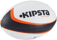 Kipsta R 300 Rugby Ball -   Size: 4,  Diameter: 42 Cm (Pack Of 1, White, Green)