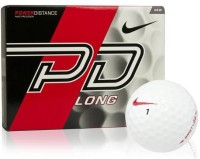 Nike PD LONG Golf Ball -   Size: 4,  Diameter: 3.98 Cm (Pack Of 12, White)