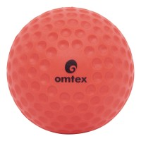 Omtex Dimple Cricket Ball -   Size: 5.5,  Diameter: 2.5 Cm (Pack Of 1, Pink)