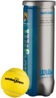 Wilson Australian Open Tennis Ball -   Size: 1,  Diameter: 2.5 Cm (Pack Of 6, Yellow)