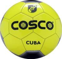 Cosco Cuba Football -   Size: 5,  Diameter: 18 Cm (Pack Of 1, Yellow, Multicolor)