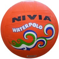 Nivia Water Polo Orange Water Polo Ball -   Size: 4,  Diameter: 2.5 Cm (Pack Of 1, Orange)