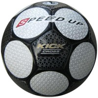 Speed Up Kick Cross Football - Size: 5 (Pack Of 1, White, Black)