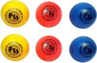 Priya Sports Top Wind Cricket Ball -   Size: 5,  Diameter: 2.5 Cm (Pack Of 6, Multicolor)