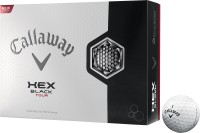 Callaway HEX Black Tour Golf Ball (Pack Of 12, White)