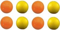 Vani Sports Ping Pong Double Extra Rubber Ball -   Size: 2,  Diameter: 2.5 Cm (Pack Of 8, Multicolor)