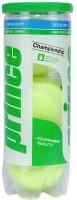 Prince Championship Lawn Tennis Ball -   Size: Standard,  Diameter: 6.5 Cm (Pack Of 3, Yellow)