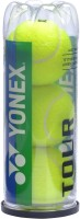 Yonex Tour Tennis Ball -   Size: 5,  Diameter: 6.54 Cm (Pack Of 3, Yellow)
