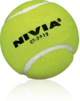 Nivia 01 Cricket Ball - Size: 5, Diameter: 2.5 Cm (Pack Of 12, Yellow)