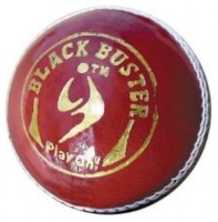 SM Black Buster Cricket Ball -   Size: 2.5,  Diameter: 2.5 Cm (Pack Of 1, Red)