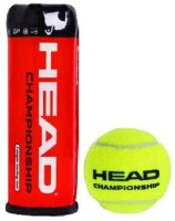 Head Championship Lawn Tennis Ball -   Size: Standard,  Diameter: 6.5 Cm (Pack Of 3, Yellow)