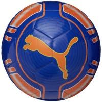 Puma Evo Power 6 Trainer MS Football -   Size: 5,  Diameter: 22 Cm (Pack Of 1, Blue, Orange)