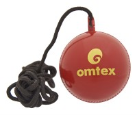 Omtex Handing & Knocking Cricket Ball -   Size: 5.5,  Diameter: 2.5 Cm (Pack Of 1, Red)