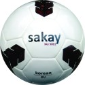 Sakay SKY 5001 Football -   Size: 5,  Diameter: 22 Cm - Pack Of 1, White, Black
