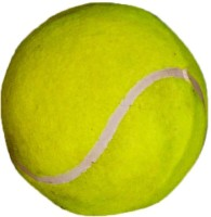 Vani Sports Queen Tennis Ball -   Size: 2,  Diameter: 2.5 Cm (Pack Of 1, Yellow)