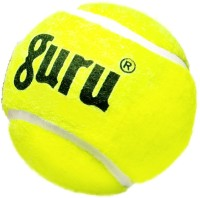 Guru Cricket Tennis Ball - Size: Standard, Diameter: 6.5 Cm (Pack Of 6, Yellow)