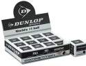 Dunlop Single Dot Squash Ball Squash Ball -   Size: 40,  Diameter: 40 Mm - Pack Of 12, Black