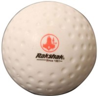 Rakshak Cyber Hockey Ball -   Size: Full Size,  Diameter: 7 Cm (Pack Of 12, White)