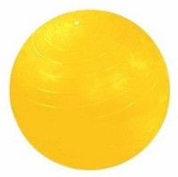 Aerofit Af9010 Gym Ball -   Size: 75,  Diameter: 75 Cm (Pack Of 1, Yellow)