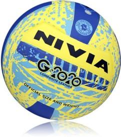 Nivia G-2020 Volleyball -   Size: 4,  Diameter: 2.5 cm
