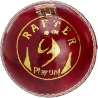 SM Rafter Cricket Ball -   Size: 2.5,  Diameter: 2.5 Cm (Pack Of 1, Red)