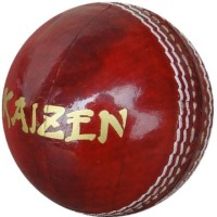 Kaizen Test Cricket Ball -   Size: 9.6,  Diameter: 7.3 Cm (Pack Of 6, Red)