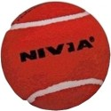 Nivia Cricket Tennis Ball - Pack Of 6, Red