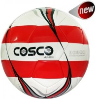 Cosco Munich Football -   Size: 5,  Diameter: 2.1 Cm (Pack Of 1, White)