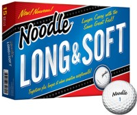 Taylormade Noodle Long & Soft Golf Ball (Pack Of 15, White)