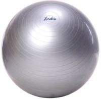 Xerobic Exercise Stability Anti Burst Perfect For Pilates Yoga Fitness Cardio Aerobics And Weight Loss Gym Ball -   Size: 95,  Diameter: 95 Cm (Pack Of 1, Multicolor)