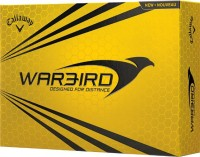 Callaway Warbird Golf Ball -   Size: Standard,  Diameter: 4 Cm (Pack Of 12, White)
