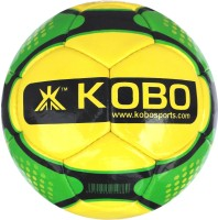Kobo Double Power Football -   Size: 5,  Diameter: 22 Cm (Pack Of 1, Yellow)
