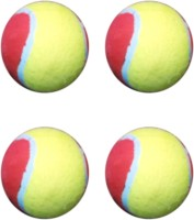 VSM Vani Sports Cricket Ball - Size: 3, Diameter: 2 Cm (Pack Of 4, Multicolor)