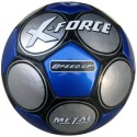 Speed Up X Force Football - Size: 5 - Pack Of 1, Blue, Silver