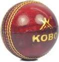 Kobo Tournament Cricket Ball -   Size: Standard,  Diameter: 2.5 Cm - Pack Of 1, Red