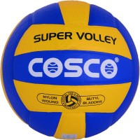 Cosco Super Volly Volleyball -   Size: 7,  Diameter: 27 Cm (Pack Of 1, Multicolor)