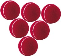 Jonex Heavy Weight Cricket Tennis Ball (Pack Of 12) Cricket Ball -   Size: Standard,  Diameter: 7 Cm (Pack Of 12, Red)