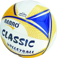 Rabro Classic Volleyball - Size: 5, Diameter: 23 Cm (Pack Of 1, Multicolor)