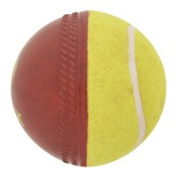 Omtex Swing Cricket Ball -   Size: 5.5,  Diameter: 2.5 Cm (Pack Of 1, Red)