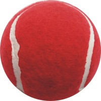 J&JC Classic Tennis Ball -   Size: 6.5,  Diameter: 6.5 Cm (Pack Of 1, Red)