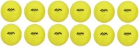 AVM HARD SHOT WINDALL Cricket Ball -   Size: STANDARD,  Diameter: 6.5 Cm (Pack Of 12, Yellow)